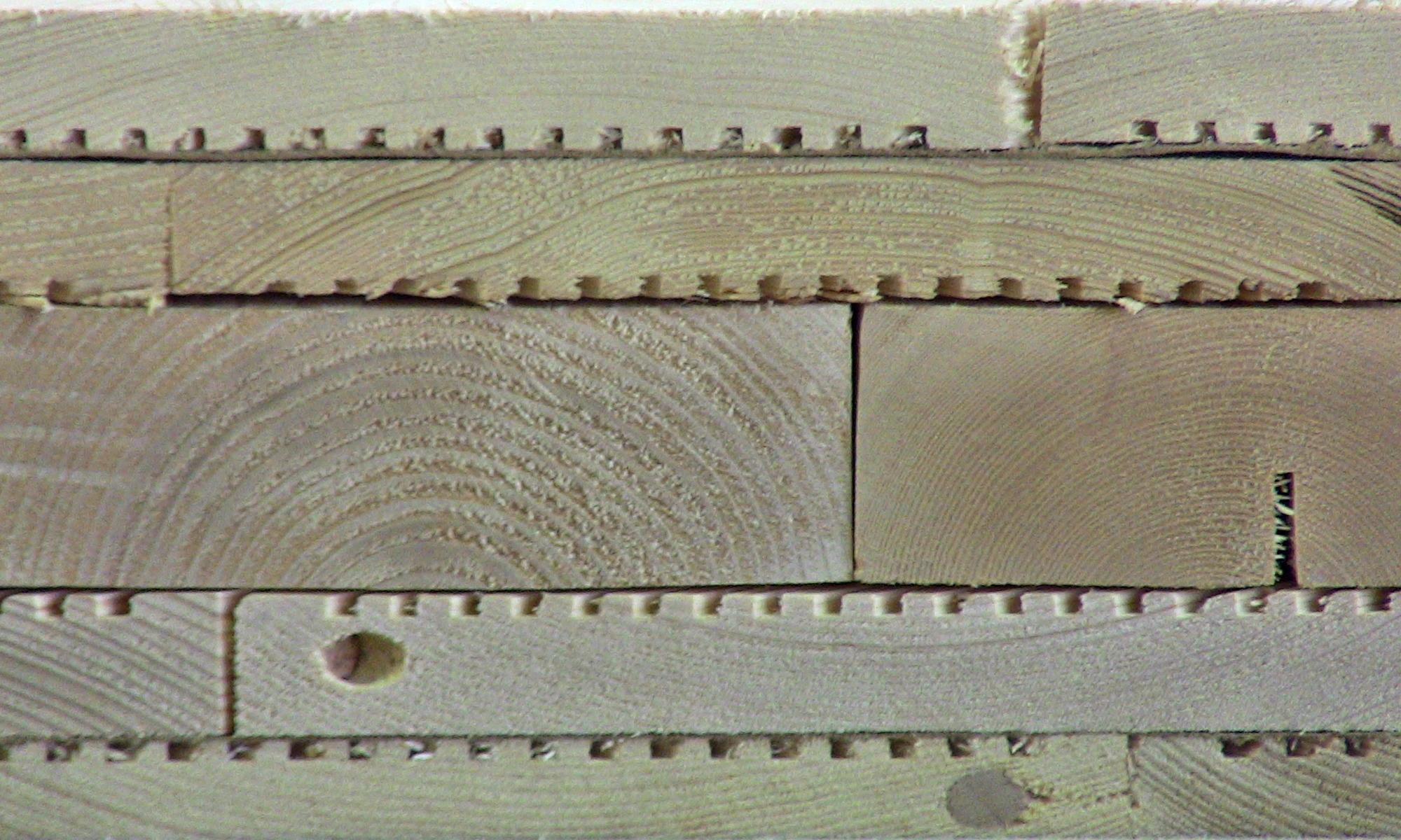 Структура стеновой панели.