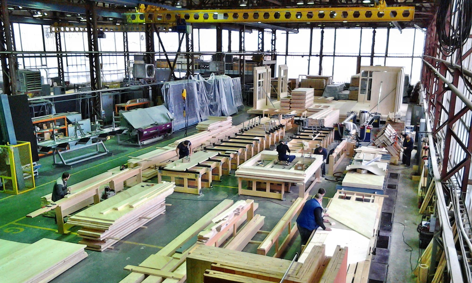 Hand Made производство в Дубне.